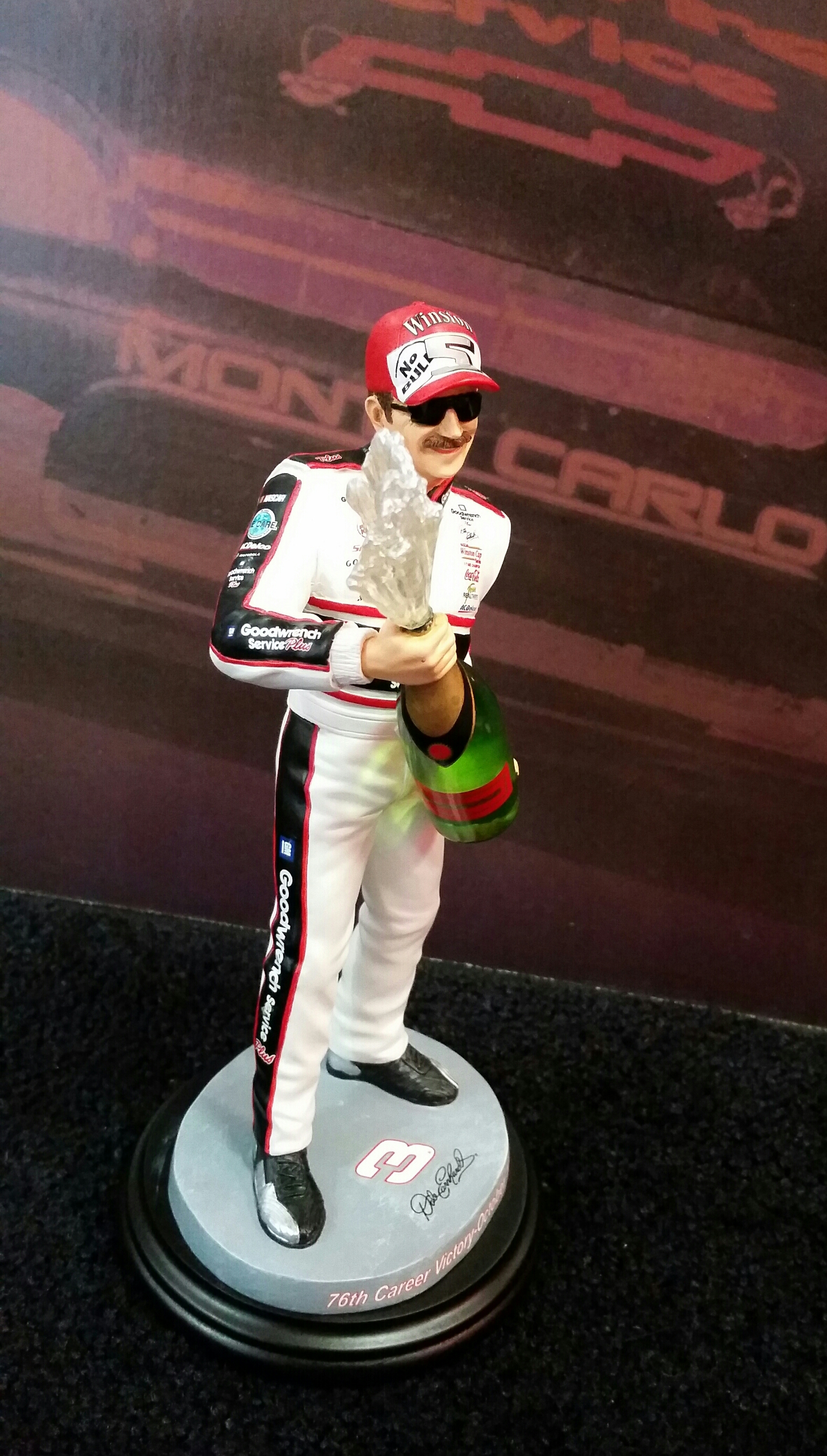 Dale Earnhardt Celebration Character Collectible Dale