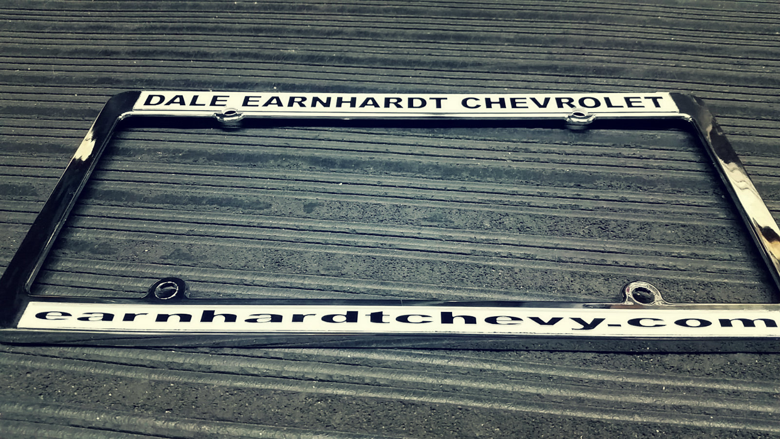 Dale Earnhardt Chevrolet License Plate Tag