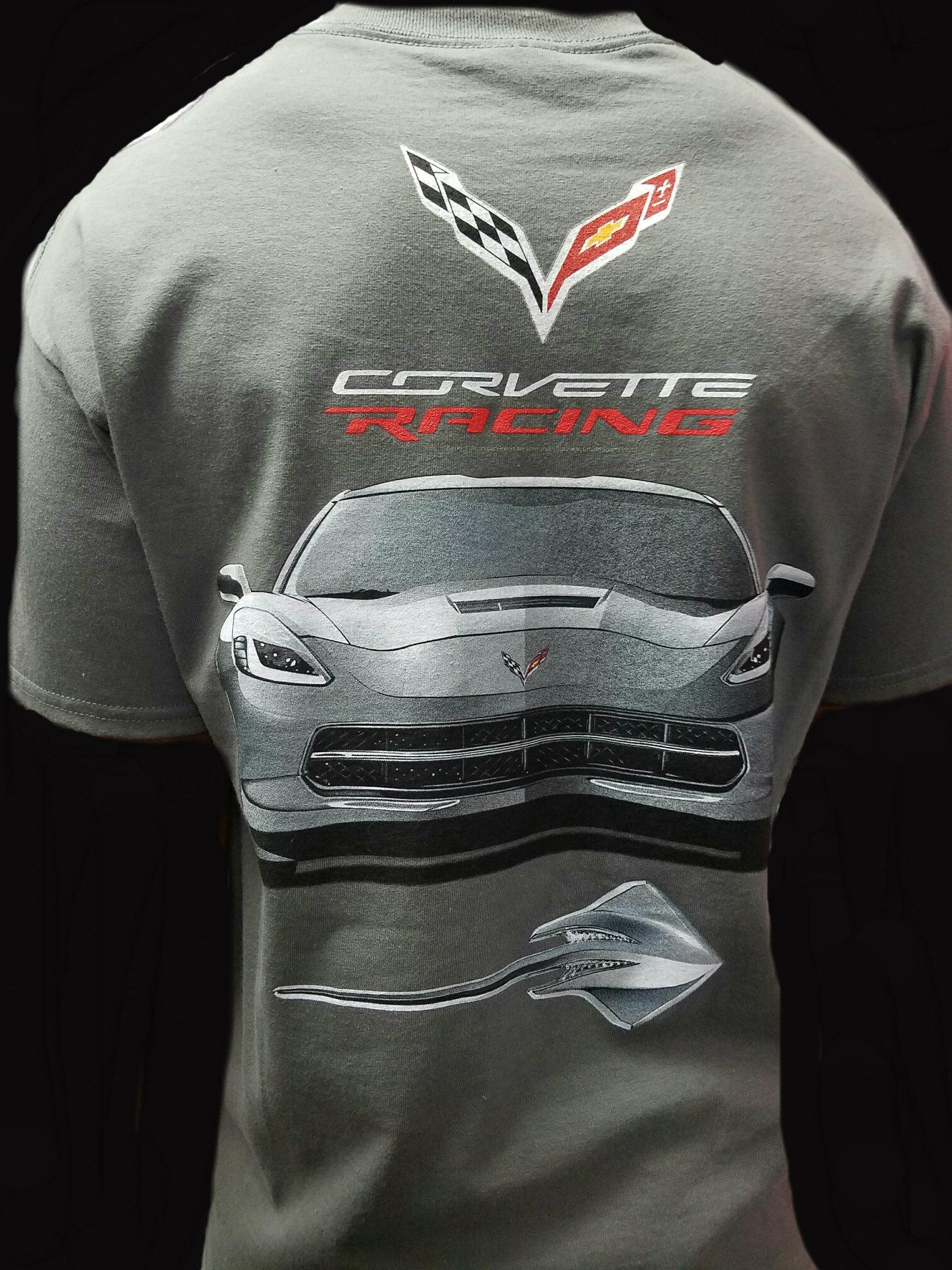 Corvette T Shirt T Shirts Design Concept