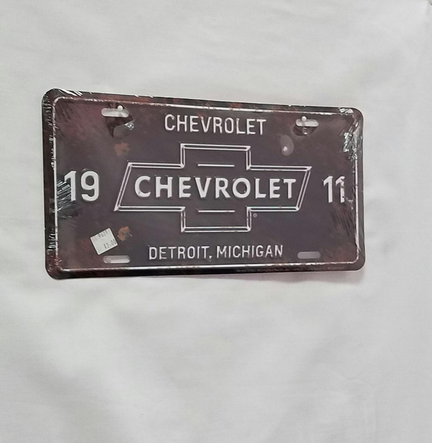 Chevrolet License Plate   Dale Earnhardt Chevrolet Store
